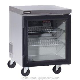 Delfield GUR27P-G Refrigerator, Undercounter, Reach-In