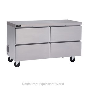 Delfield GUR32P-D Refrigerator, Undercounter, Reach-In
