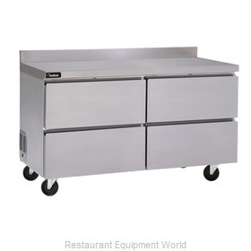 Delfield GUR48BP-D Refrigerated Counter, Work Top