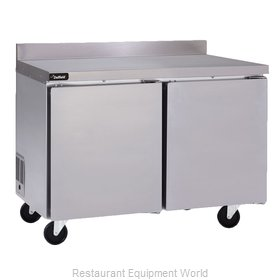 Delfield GUR48BP-S Refrigerated Counter, Work Top