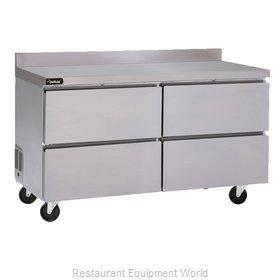 Delfield GUR60BP-D Refrigerated Counter, Work Top