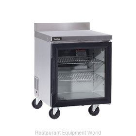Delfield GUR60BP-G Refrigerated Counter, Work Top