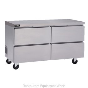 Delfield GUR60P-D Refrigerator, Undercounter, Reach-In