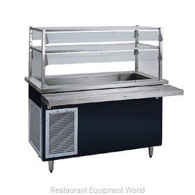 Delfield KCSC-50-BP Serving Counter, Cold Food