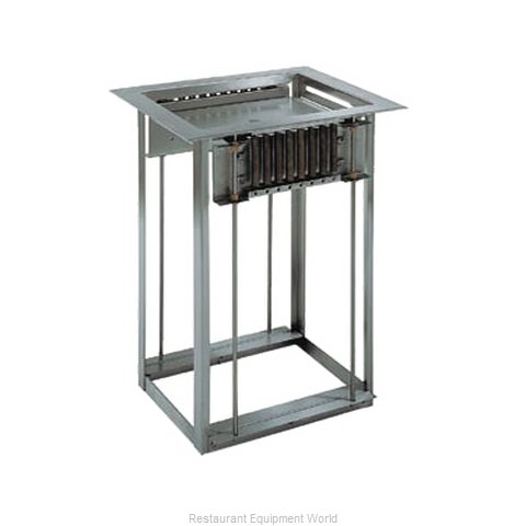 Delfield LT-1014 Dispenser, Tray Rack (Magnified)