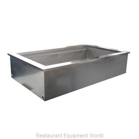 Delfield N8043 Cold Food Well Unit, Drop-In, Ice-Cooled