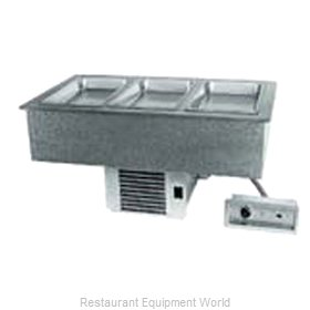 Delfield N8656P Hot / Cold Food Well Unit, Drop-In, Electric