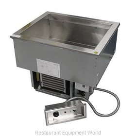 Delfield N8669 Hot / Cold Food Well Unit, Drop-In, Electric