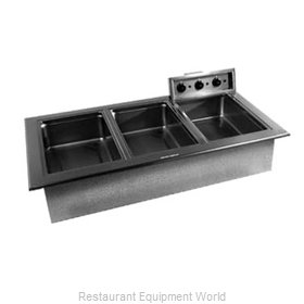 Delfield N8717-D Hot Food Well Unit, Drop-In, Electric