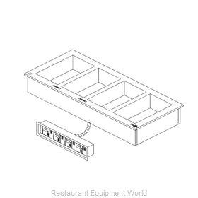 Delfield N8717-DESP Hot Food Well Unit, Drop-In, Electric
