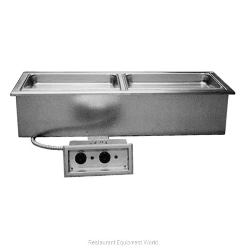 Delfield N8746ND Hot Food Well Unit Electric Drop-In Top Mount