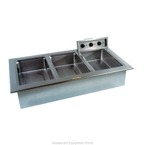 Delfield N8768ND Hot Food Well Unit Electric Drop-In Top Mount