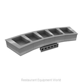 Delfield N8776-R Hot Food Well Unit, Drop-In, Electric