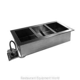 Delfield N8859 Hot Food Well Unit, Drop-In, Electric