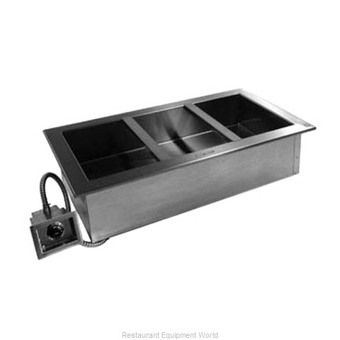Delfield N8887 Hot Food Well Unit, Drop-In, Electric