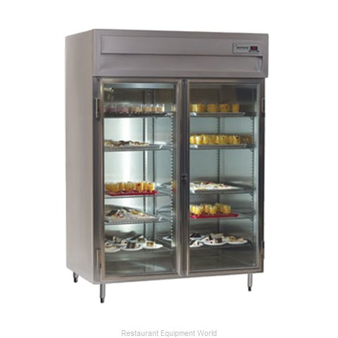 Delfield SAH2-G Reach-In Heated Cabinet 2 section