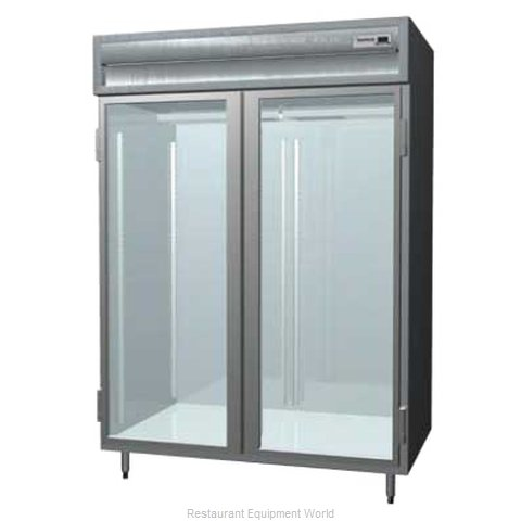 Delfield SARPT2-GS Pass-Thru Refrigerator 2 sections