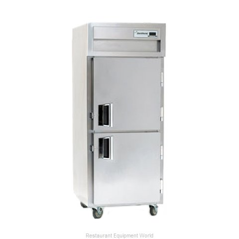 Delfield SSDBR1-SH Reach-In Dual Temp Cabinet self-contained