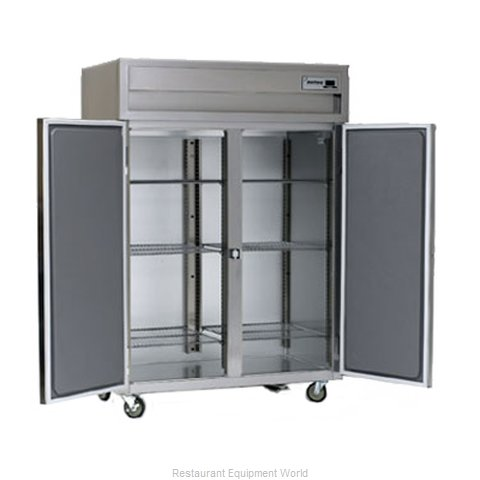 Delfield SSDFL2-S Reach-In Dual Temp Cabinet self-contained