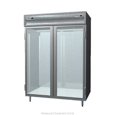 Delfield SSDRL2-G Reach-In Dual Temp Cabinet self-contained