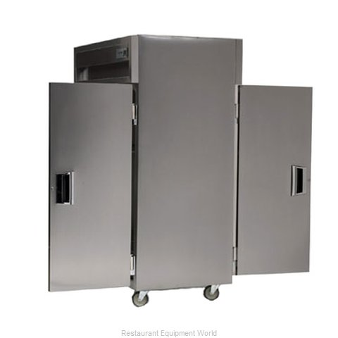 Delfield SSDRP2-S Pass-Thru Dual Temp Cabinet 2 sections