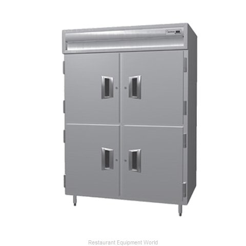Delfield SSHPT2-SH Pass-Thru Heated Cabinet 2 section