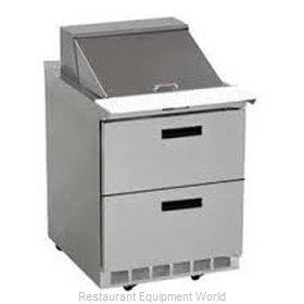 Delfield STD4427N-12M Refrigerated Counter, Mega Top Sandwich / Salad Unit