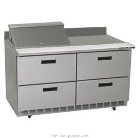Delfield STD4448N-8 Refrigerated Counter, Sandwich / Salad Top
