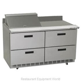Delfield STD4448N-8 Refrigerated Counter, Sandwich / Salad Top