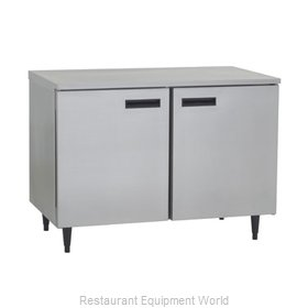 Delfield UC4148 Reach-In Undercounter Freezer 2 section