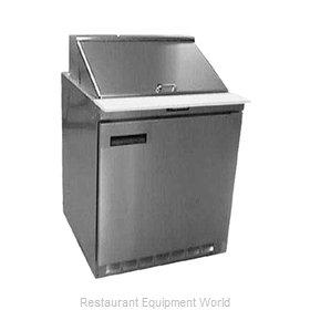 Delfield UC4427N-12M Refrigerated Counter, Mega Top Sandwich / Salad Unit