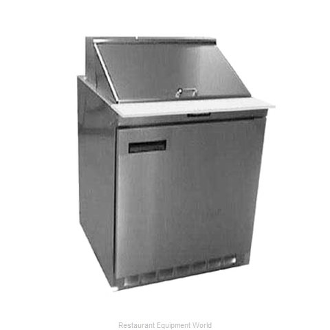Delfield UC4427N-9M Refrigerated Counter, Mega Top Sandwich / Salad Unit (Magnified)