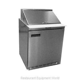 Delfield UC4427N-9M Refrigerated Counter, Mega Top Sandwich / Salad Unit