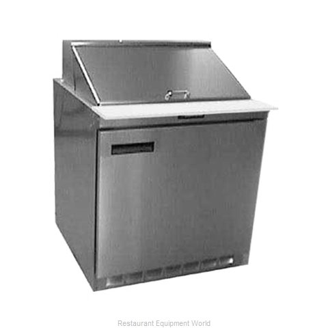 Delfield UC4432N-12M Refrigerated Counter, Mega Top Sandwich / Salad Unit