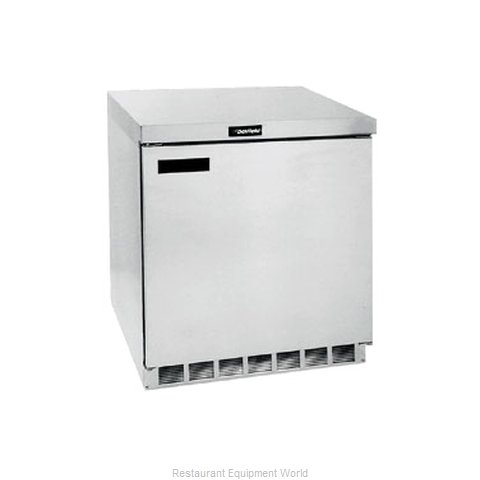 Delfield UC4432N Reach-in Undercounter Refrigerator 1 section