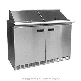 Delfield UC4448N-12 Refrigerated Counter, Sandwich / Salad Top