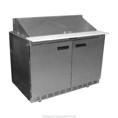 Delfield UC4448N-18M Refrigerated Counter, Mega Top Sandwich / Salad Unit (Magnified)
