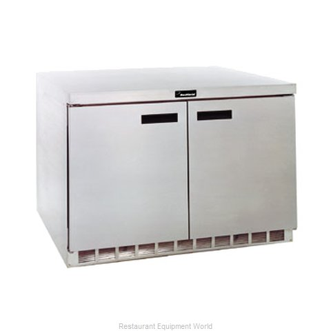 Delfield UC4448N Reach-in Undercounter Refrigerator 2 section