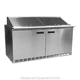 Delfield UC4460N-12 Refrigerated Counter, Sandwich / Salad Top