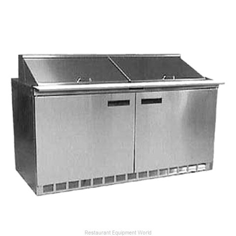 Delfield UC4460N-18M Refrigerated Counter, Mega Top Sandwich / Salad Unit