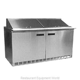 Delfield UC4460N-24M Refrigerated Counter, Mega Top Sandwich / Salad Unit