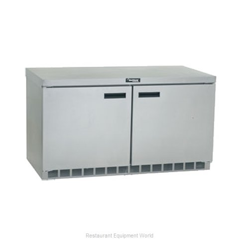 Delfield UC4460N Reach-in Undercounter Refrigerator 2 section