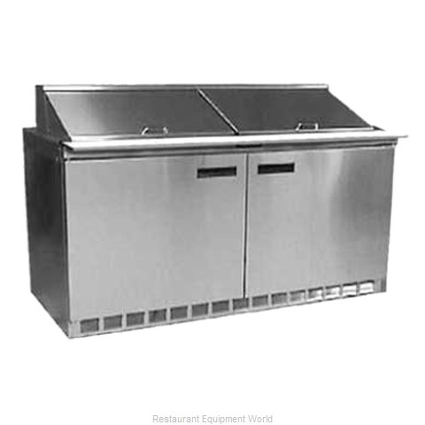 Delfield UC4464N-16 Refrigerated Counter, Sandwich / Salad Top
