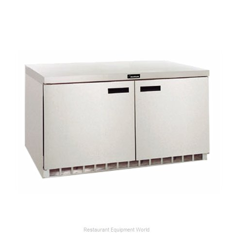 Delfield UC4464N Reach-in Undercounter Refrigerator 2 section