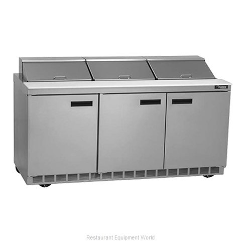 Delfield UC4472N-18 Refrigerated Counter, Sandwich / Salad Top