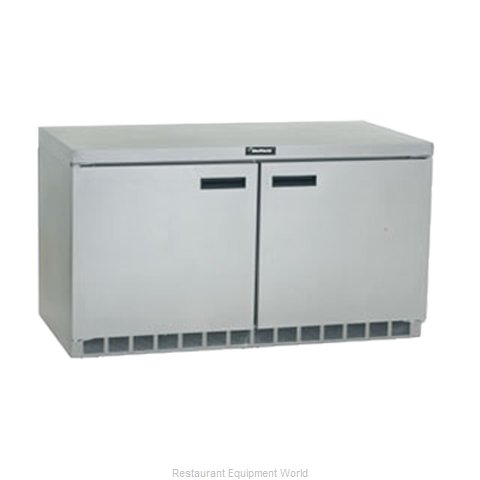 Delfield UC4560N Reach-In Undercounter Freezer 2 section