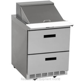 Delfield UCD4432N-12M Refrigerated Counter, Mega Top Sandwich / Salad Unit