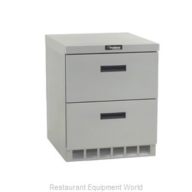 Delfield UCD4432N Reach-in Undercounter Refrigerator 1 section