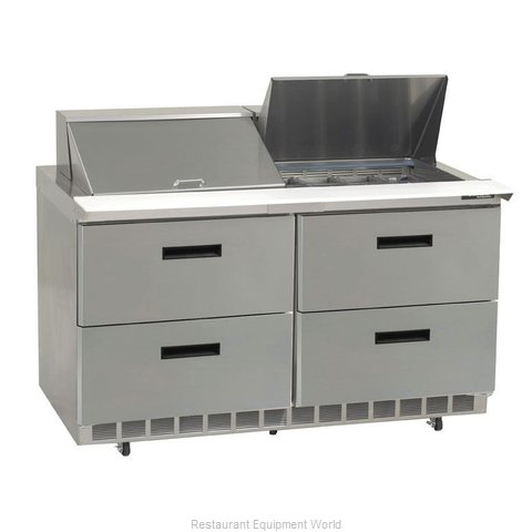 Delfield UCD4448N-12 Refrigerated Counter, Sandwich / Salad Top