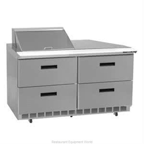 Delfield UCD4448N-8 Refrigerated Counter, Sandwich / Salad Top